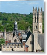 Oxford Tower View Metal Print