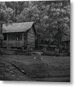 Ozark Cabin Metal Print