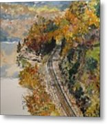 Ozark Fall Metal Print by Sharon  De Vore