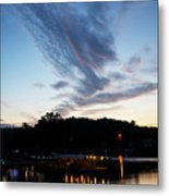 Ozark Sunrise 6 Metal Print