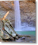 Ozone A 90 Foot Waterfall Metal Print