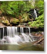 Ozone Falls Ricketts Glen Metal Print