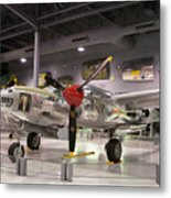 P-38 Lighting Marge Metal Print