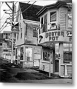 P-town Lobster Pot Metal Print