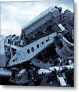 P51 Engine Metal Print