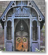 Pa Country Churches - Coleman Memorial Chapel Exterior - Near Brickerville, Lancaster County Metal Print