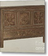 Pa. German Chest Metal Print
