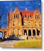 Pabst Mansion Metal Print