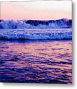 Pacifac Sunset 23 Wc Metal Print