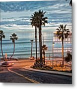 Pacific And 1st Street Metal Print