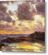 Pacific Clouds Metal Print