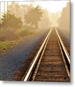 Pacific Coast Starlight Railroad Metal Print