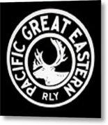 Pacific Great Eastern Metal Print