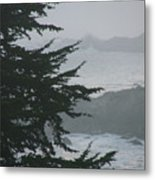 Pacific Grove Early Am Metal Print