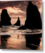 Pacific Pillars Metal Print