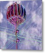 Pacific Science Center Lamp 2 Metal Print