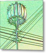 Pacific Science Center Lamp Metal Print
