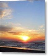 Pacific Sun Metal Print