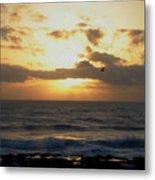 Pacific Sunset I Metal Print