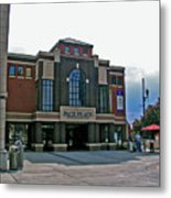 Pack Place Asheville Metal Print