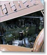 Packard Club Sedan 1934 Super 8 Metal Print