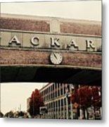 Packard Plant Metal Print
