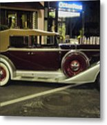 Packard Twelve Sedan Convertible Metal Print