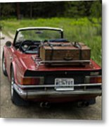 Packed Up To Travel Metal Print