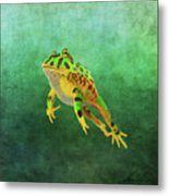 Pacman Frog Metal Print