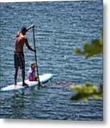 Paddle Board Metal Print