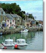 Padstow Harbour - P4a16021 Metal Print