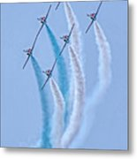 Paf Shedilaerobatic Team Formation Flight Metal Print