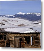 Pagoda Peak In Flat Tops Once Upon A Time Metal Print