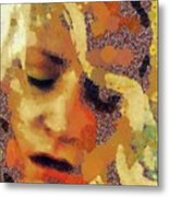 Pain By Mary Bassett Metal Print