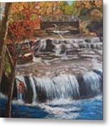 Paine Falls Metal Print