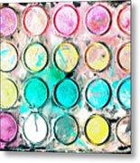 Paint Colors Metal Print