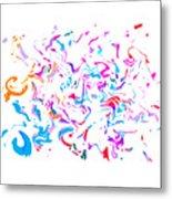 Paint Experiment 033 Metal Print