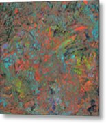 Paint Number 17 Metal Print