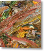 Paint Number 41 Metal Print by James W Johnson