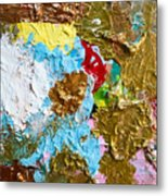 Paint Palette 2 Metal Print