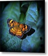 Painted Butterfly Metal Print