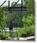 Painted Congaree Four Metal Print