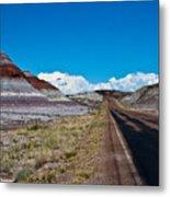 Painted Desert Road #3 Metal Print