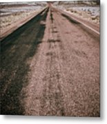 Painted Desert Road #4 Metal Print