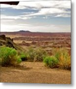 Painted Desert Vista Metal Print