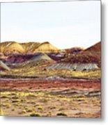 Painted Desert Winter 0602 Metal Print