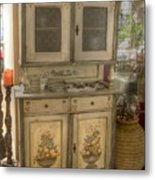 Painted Dresser Metal Print