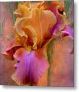 Painted Goddess - Iris Metal Print