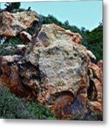 Painted Rocks Metal Print