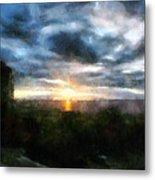 Painted Skies 01 Metal Print